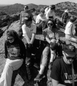 I am second from the left in the white Misal of India shirt and black Leica hat. I don't know what became of that hat, but I miss it.