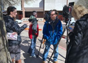 My media friends and I were cordoned off in two small media areas as we covered a funeral this week. We all appreciated why, and we all did a pretty good job.