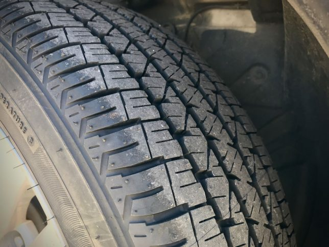 Not only are these new tires super grippy, they shed water like Fonzie's hair.