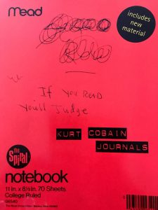 Kurt Cobain wrote in Mead spiral notebooks? So did I!