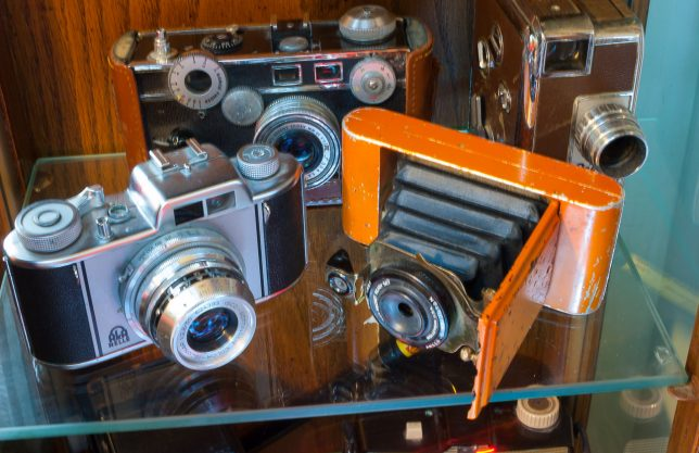 These cameras mostly work, though many of them require film that hasn't been made in 50 years.