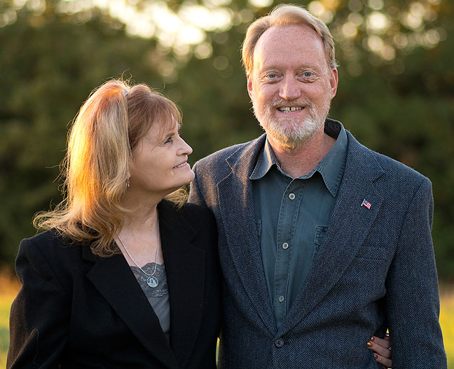 Richard and Abby, October 2014