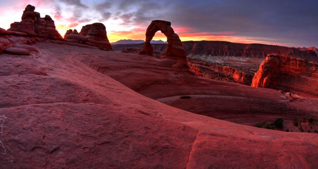 Delicate Arch, Arches National Park, Utah, October 2014