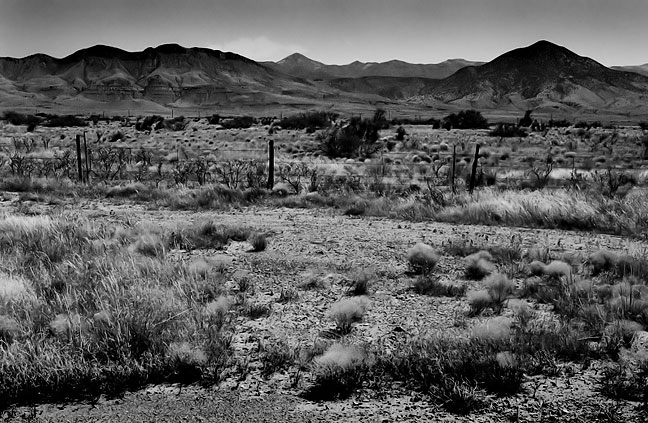 I made this image of the open desert in southern New Mexico on our long drive the Very Large Array.