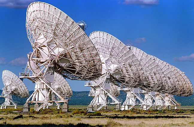Mid-afternoon at the Very Large Array