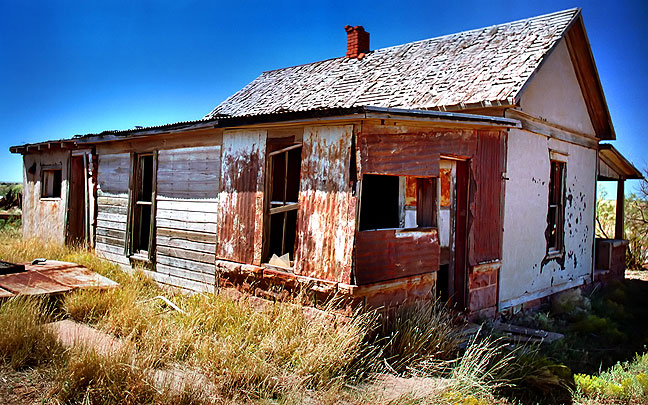 Abandoned House, Cuervo, New Mexico