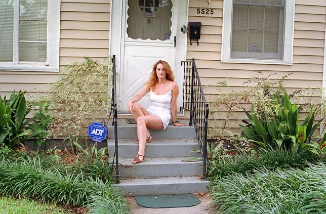 My sister Nicole poses at her home on Marshal Foch in New Orleans.