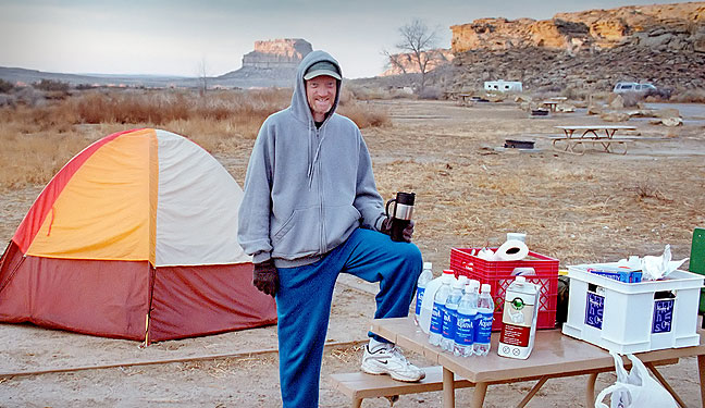 At our Gallo Campground site