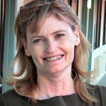 Abby smiles at me in Santa Fe.