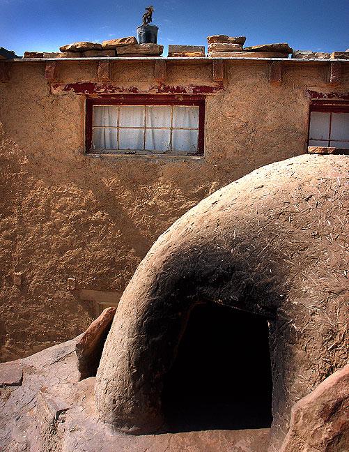 Kiln, Acoma Pueblo.