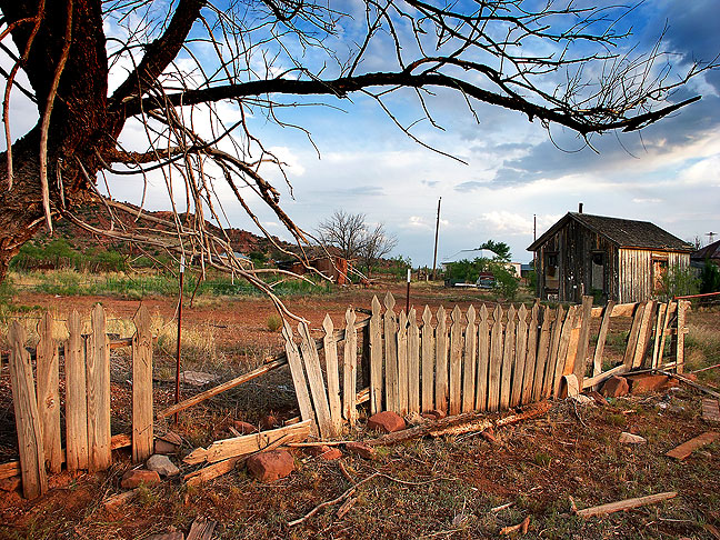 Cuervo, New Mexico, mostly a ghost town, was one of our first stop on The High Road.