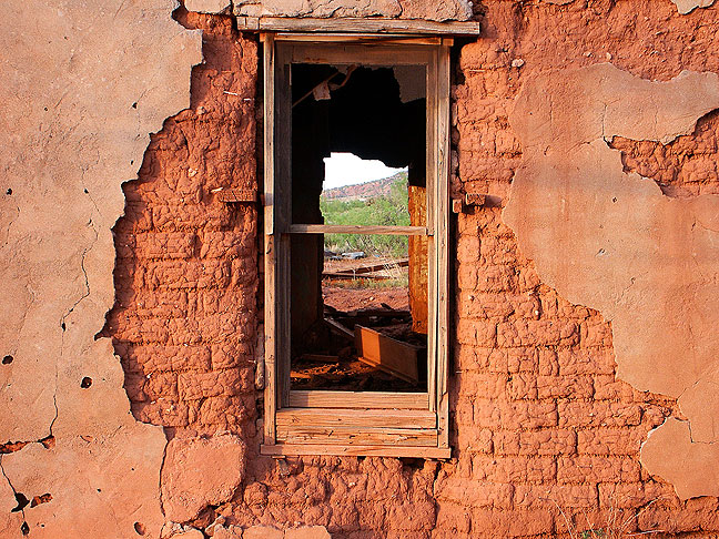 Abandoned building, Cuervo, New Mexico
