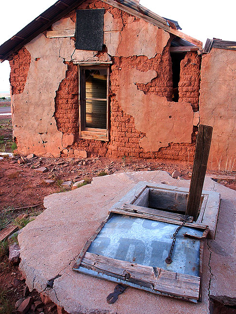 "Cuervo ""ghost town"", New Mexico"