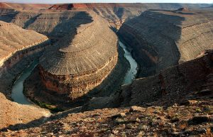 The late afternoon light was kind to us at Goosenecks of the San Juan.