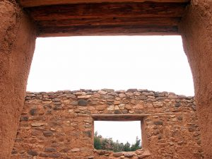 Despite construction at Jemez State Monument, we made a few decent images.