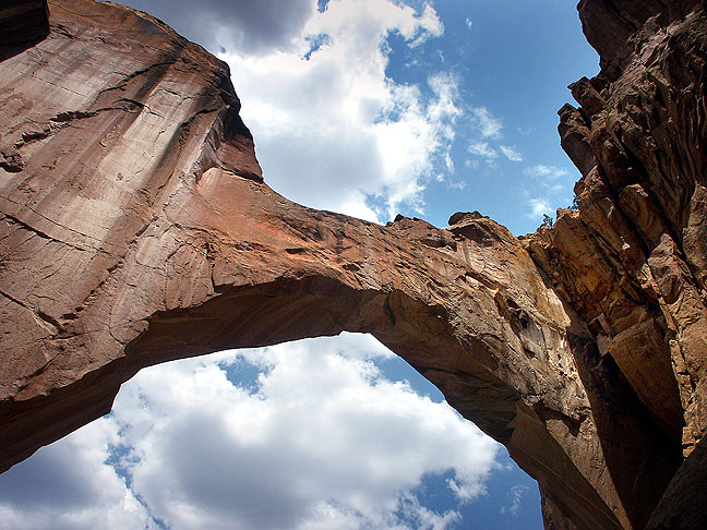 "This is another view of La Ventana, which is Spanish for ""The Window."""