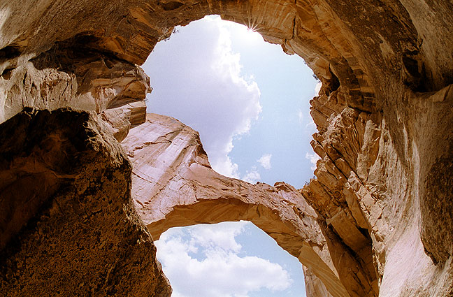 The La Ventana Natural Arch, El Malpais National Monument, New Mexico