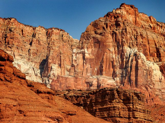 Another view of the Vermilion Cliffs shows how impressive and imposing they are.