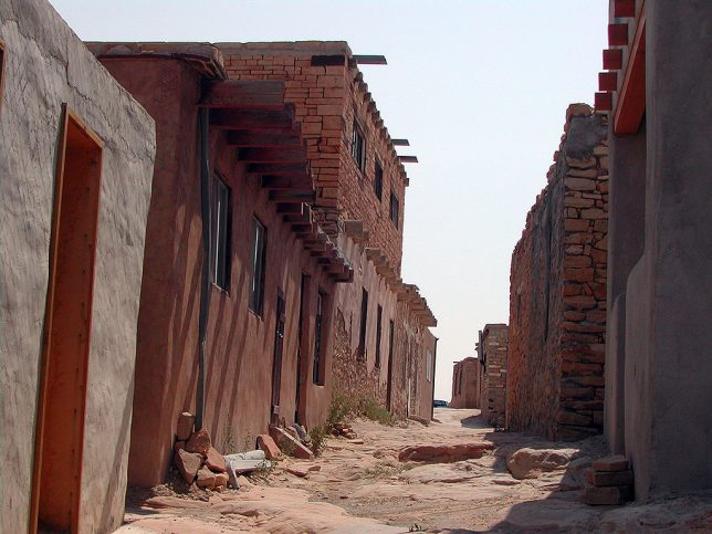 Abby made this beautiful image at Acoma Pueblo.