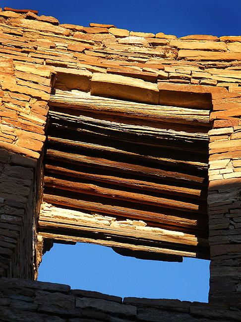 Masonry window, Pueblo Bonito