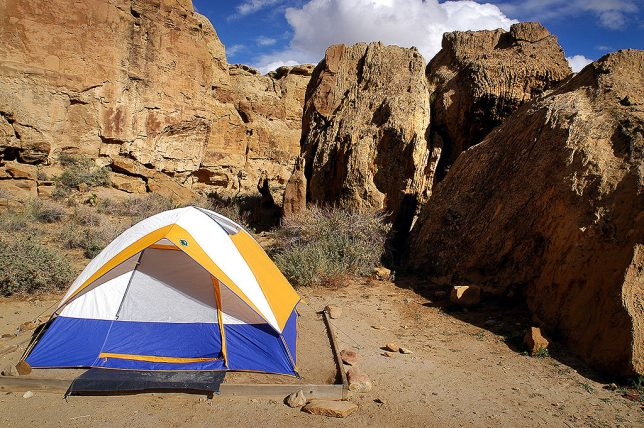 We camped for two nights at Chaco's Gallo Campground.