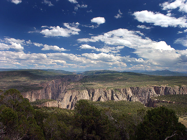 View from Green Mountain, Black Canyon of the Gunnison National Park
