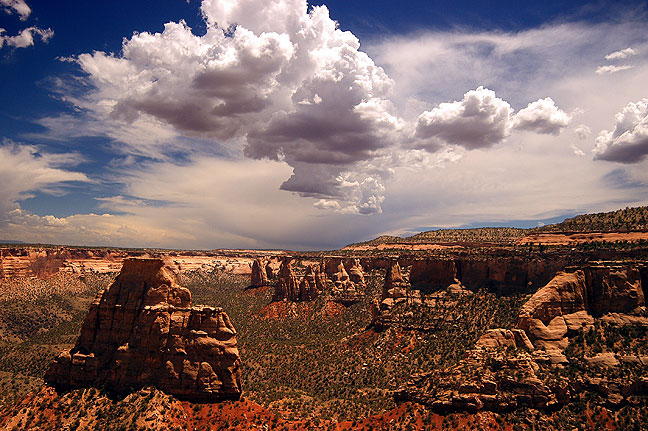 Thunderstorm, Colorado National Monument