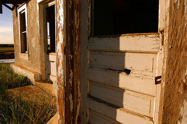 Abandoned farm house, Perico, Texas.