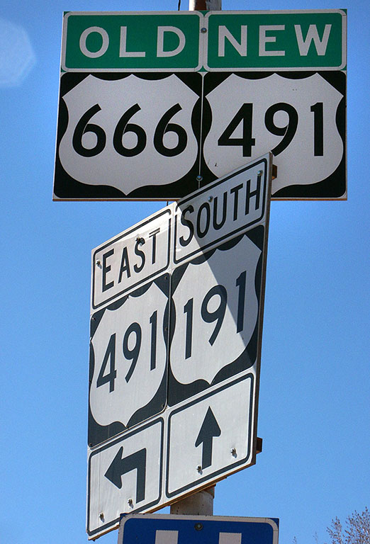 Many of my friends and I were astonished and disappointed that the name of this New Mexico highway was changed due to irrational superstition. For the record, there is nothing significant in any way about the number 666.