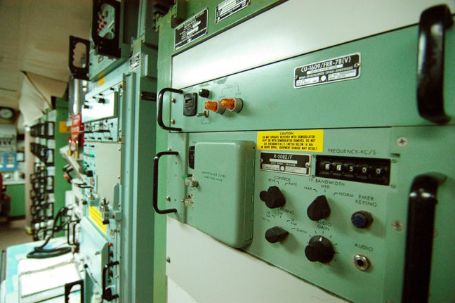 Control Panel, Missile Silo, Minuteman Missile National Historical Site, South Dakota