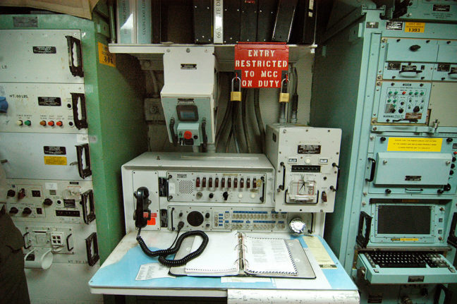 Launch Control Panel, Missile Silo, Minuteman Missile National Historical Site