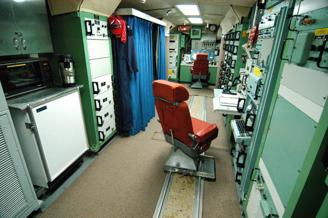 Overview of Launch Control Unit, Minuteman Missile National Historical Site