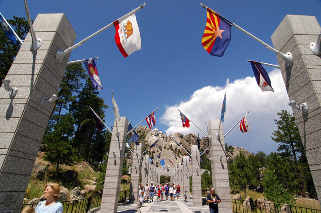Promenade, Mount Rushmore National Monument