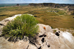 Overview, Scott's Bluff National Monument