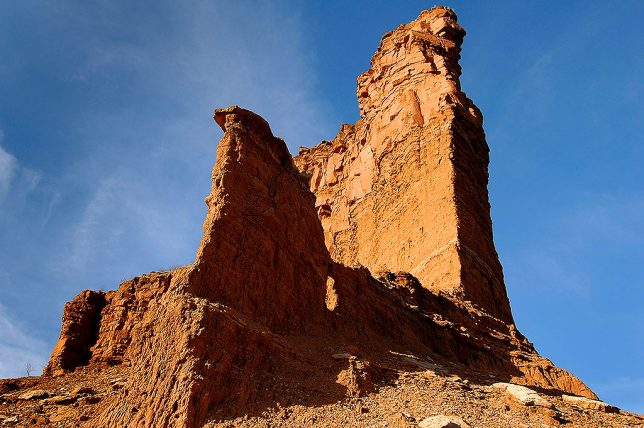 Hoodoo, Lower Canyon