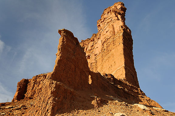 Hoodoo, Lower Canyon.
