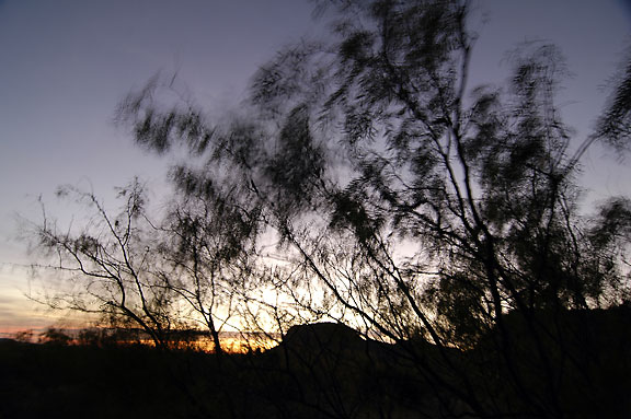 Prior to Sunrise, Upper Canyon Trail, Caprock.