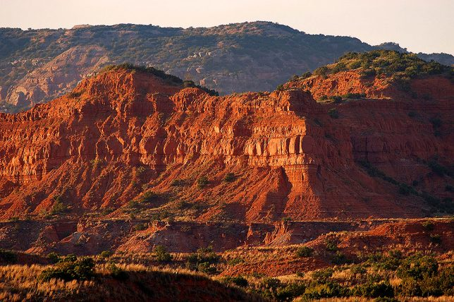 Sunset, Caprock Canyons