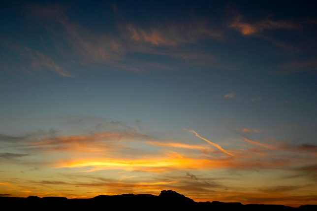 Caprock Canyons Sunset