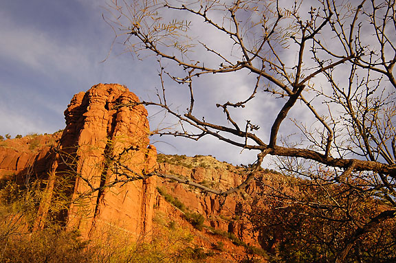 Upper Canyon, Caprock.