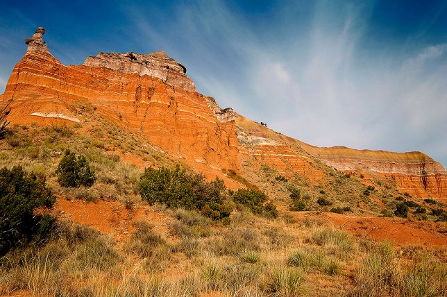 Cliffs and Sky, Palo Duro Canyon