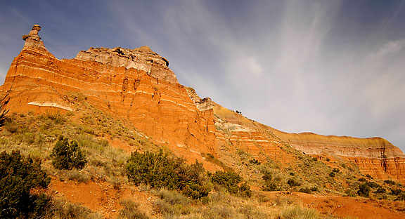 Cliffs and Sky, Palo Duro Canyon.