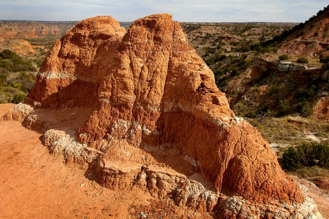 Hoodoo near The Lighthouse, Palo Duro Canyon