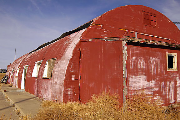 Abandoned Quonset Hut, Interstate 40, Texas Panhandle.