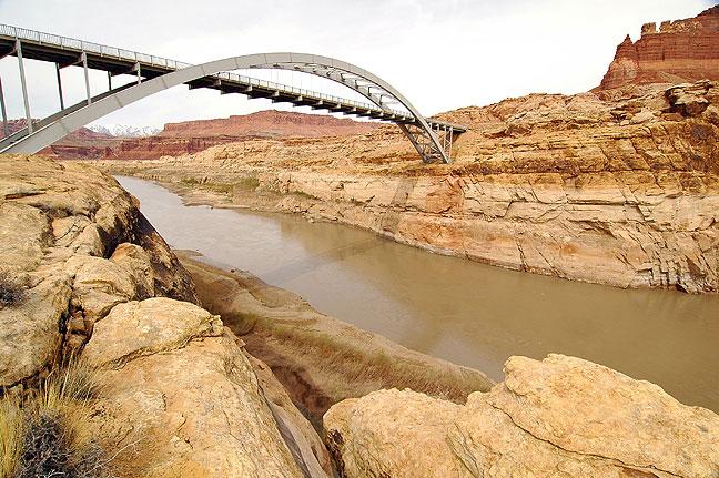 Bridge over Glen Canyon, Utah