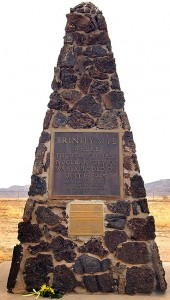 Ground Zero marker, Trinity site, Jornada del Muerto desert, New Mexico