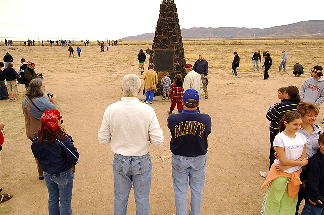 The Trinity site itself is a very unremarkable piece of desert, but I liked seeing this slice of history.