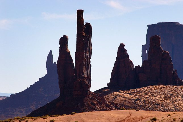I took advantage of backlighting to made this beautiful image deep in the heart of Monument Valley.