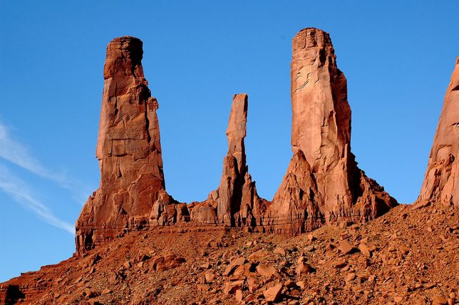 Abby made this image early in our Monument Valley tour.