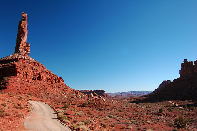 Valley of the Gods is beautiful and sparsely visited.